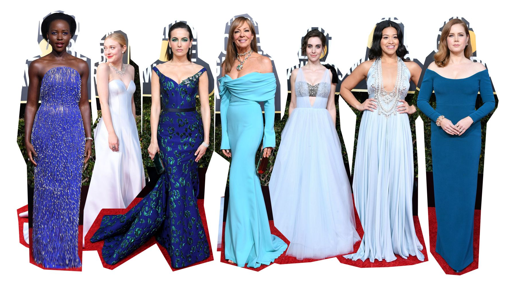 2019-golden-globes-red-carpet-blue-gowns