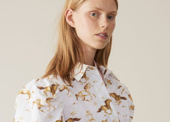 Style influencers are obsessed with this horse-print dress