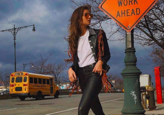 Fringed leather jackets are the first big trend of 2019 (according to Instagram)