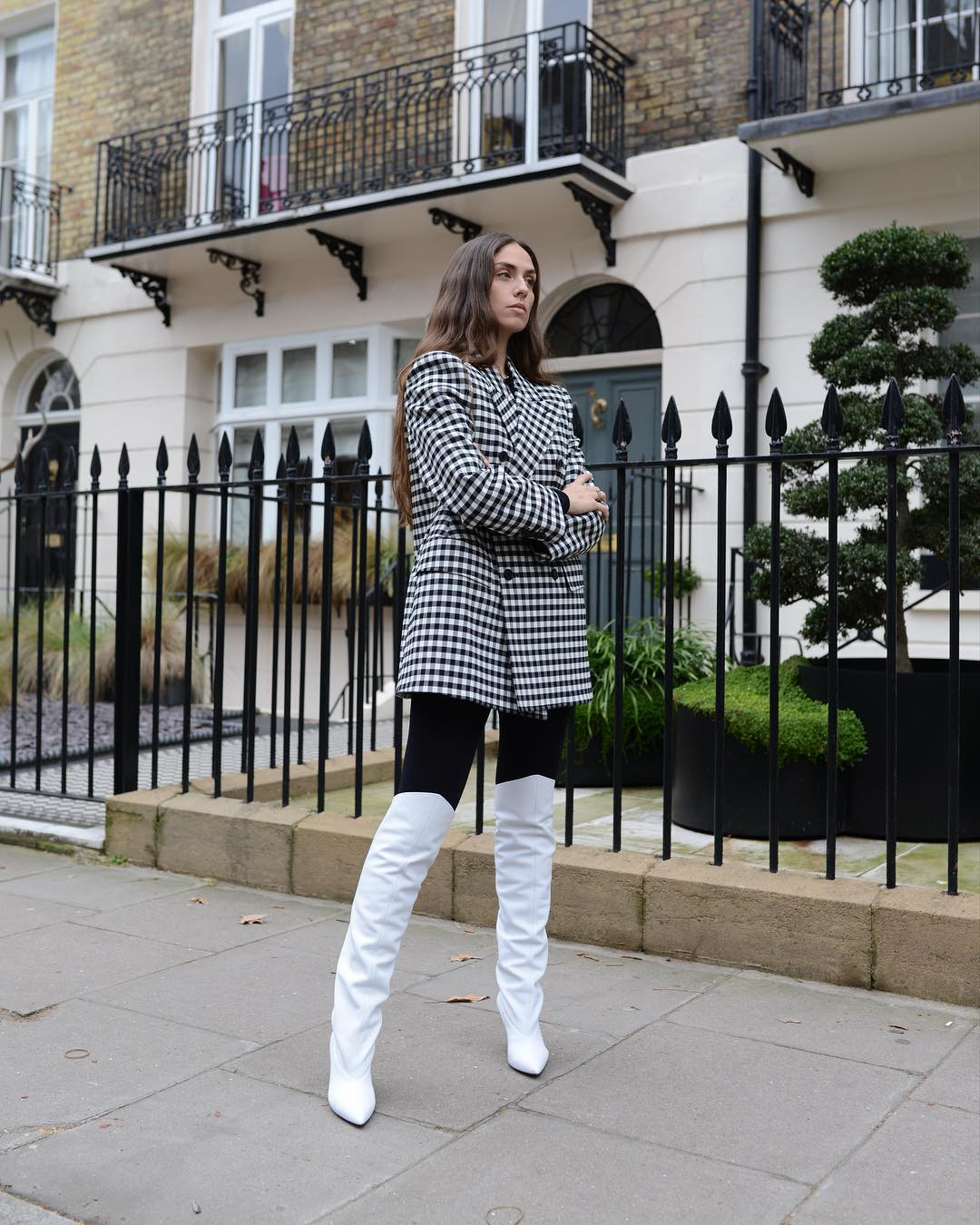 erika-boldrin-givenchy-white-leather-knee-high-boots-london-fashion-week-fall-2019-street-style