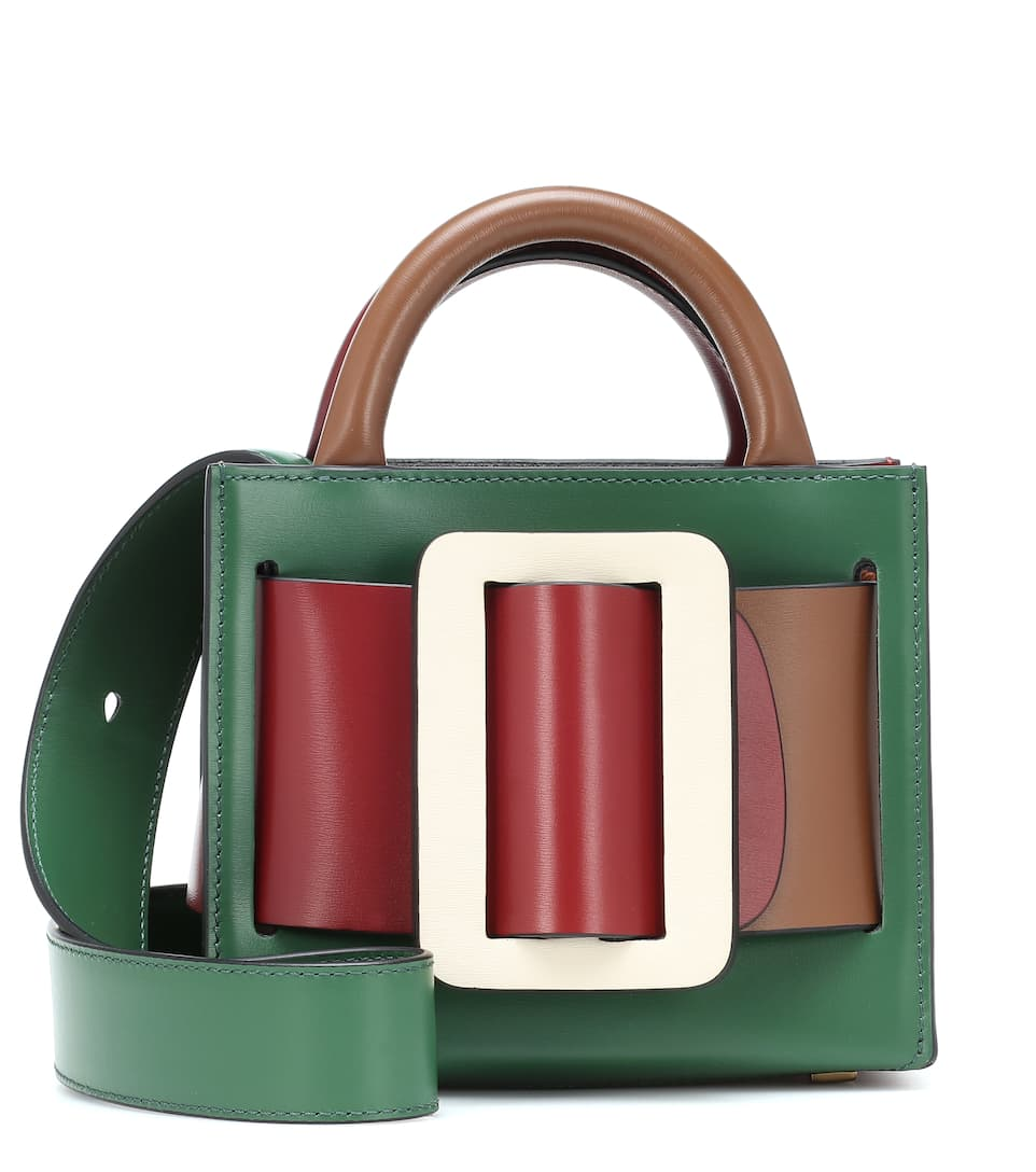 boyy-bobby-16-green-brown-leather-shoulder-bag