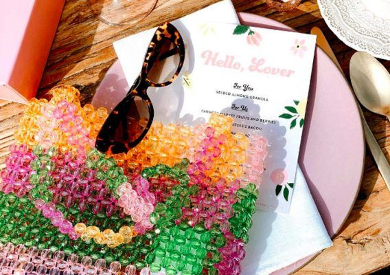 Now craving: beaded bags