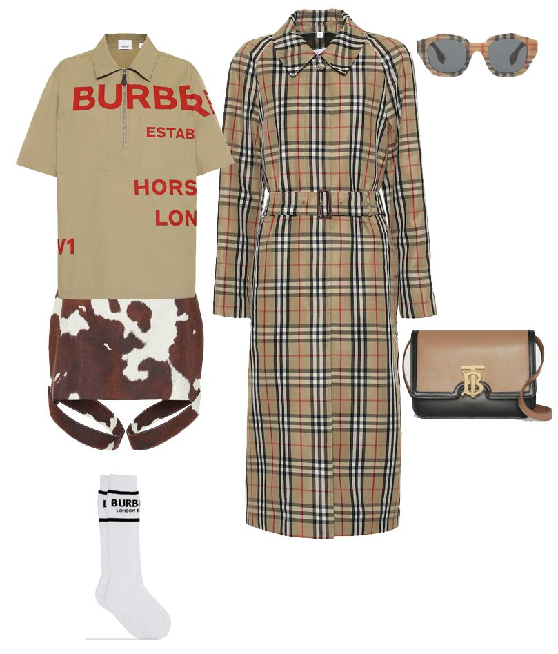 burberry-cow-print-cotton-linen-mini-skirt-outfit
