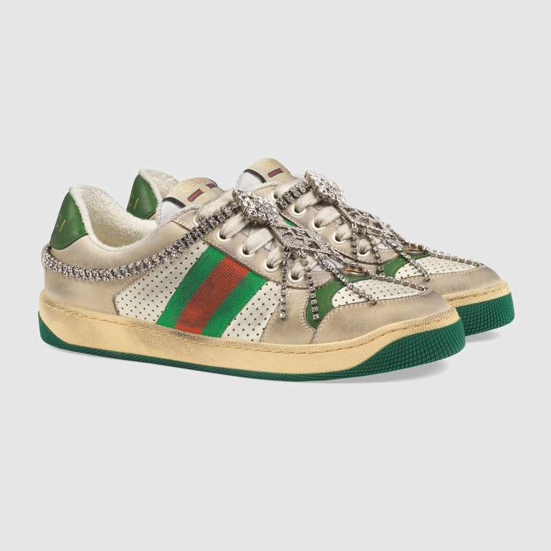 2555679b62bb Gucci Screener  the 70 s-inspired sneakers we re totally obssesing over!