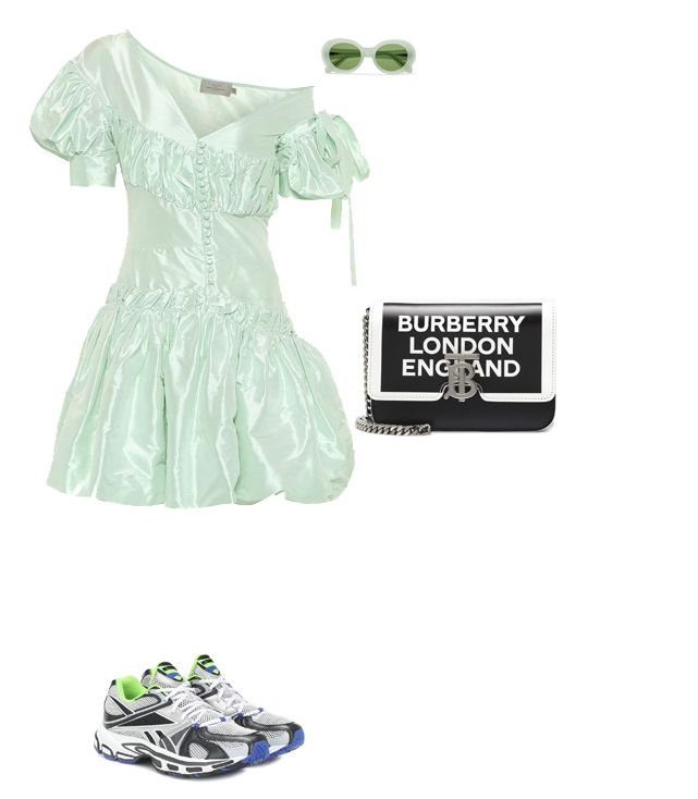 preen-thornton-bregazzi-spring-dress-with-sneakers-outfit