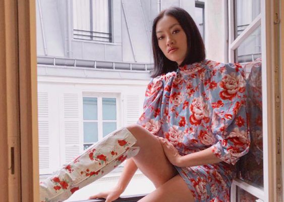 We definitely need a Magda Butrym floral mini dress this season (find out why)