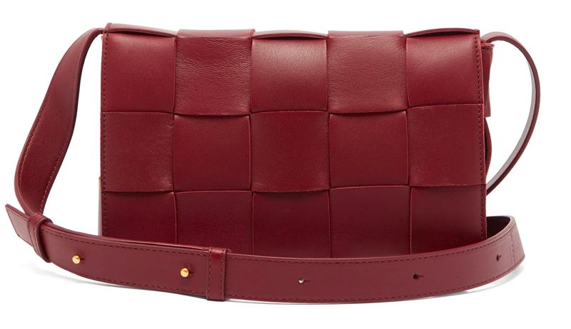 shop-bottega-veneta-cassette-intrecciato-leather-shoulder-bag-bordeaux