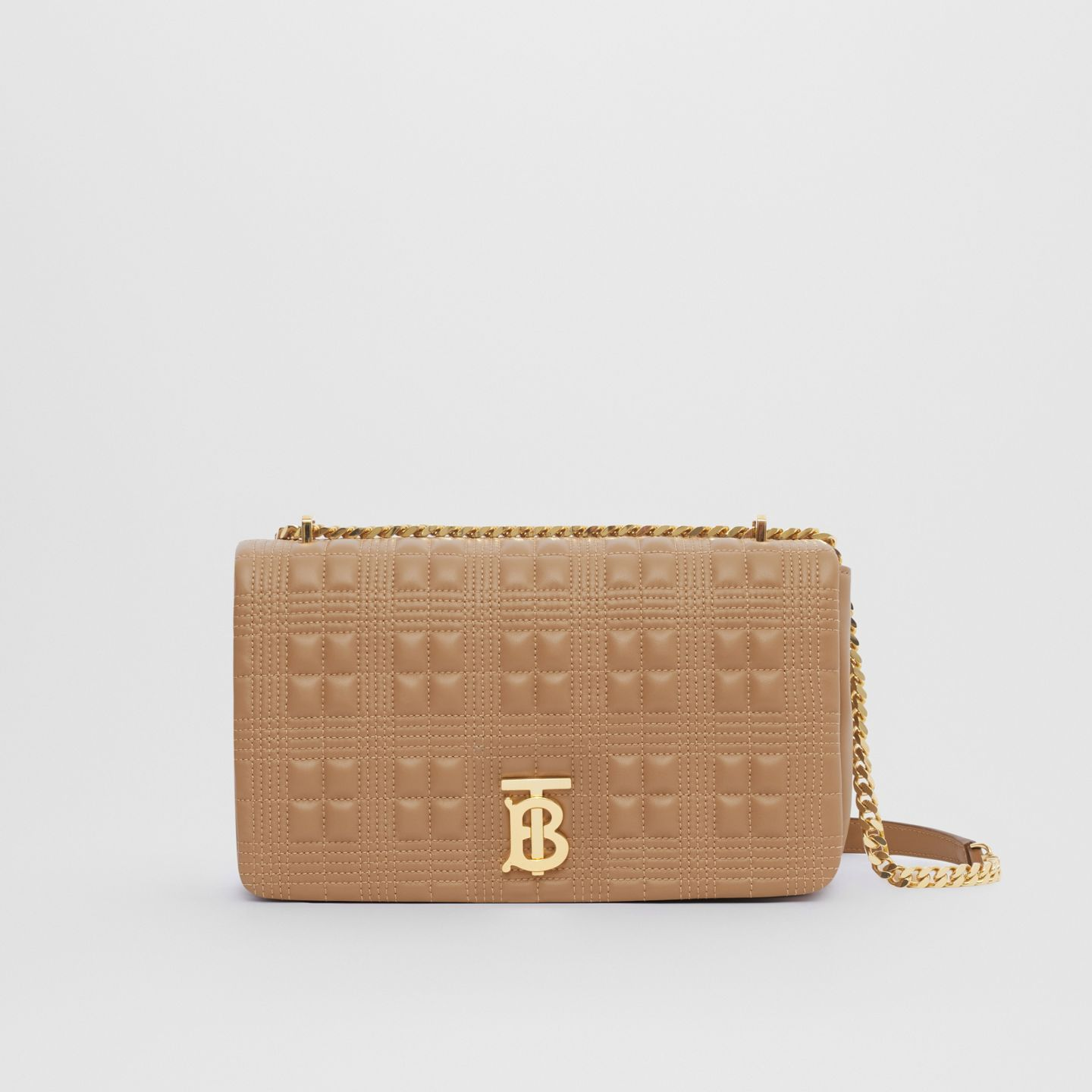 burberry-lola-medium-camel-quilted-check-lambskin-bag
