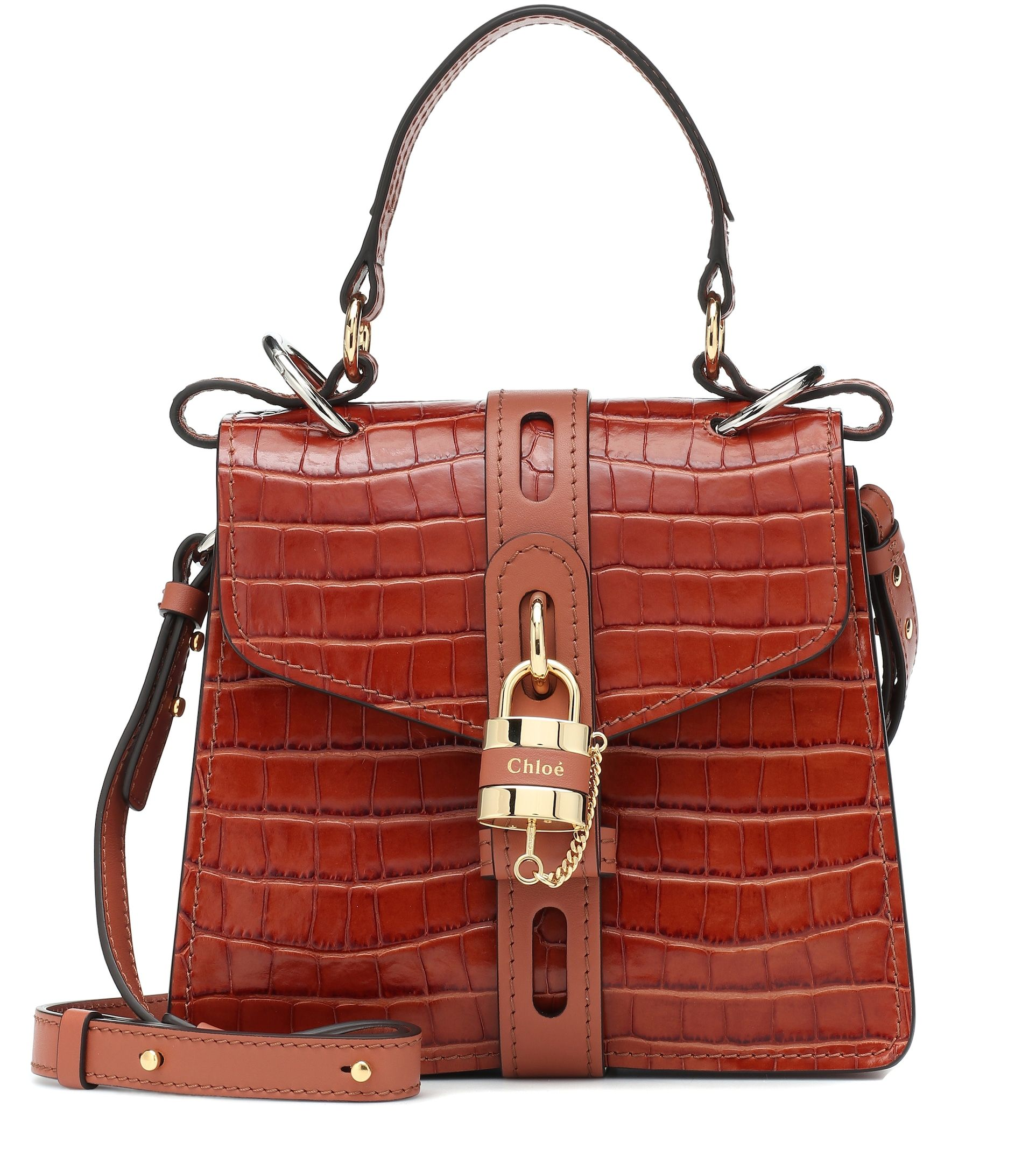 chloe-aby-small-croc-effect-leather-shoulder-bag
