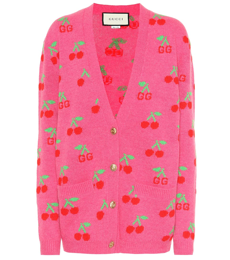 gucci-gg-cherry-jacquard-wool-cardigan