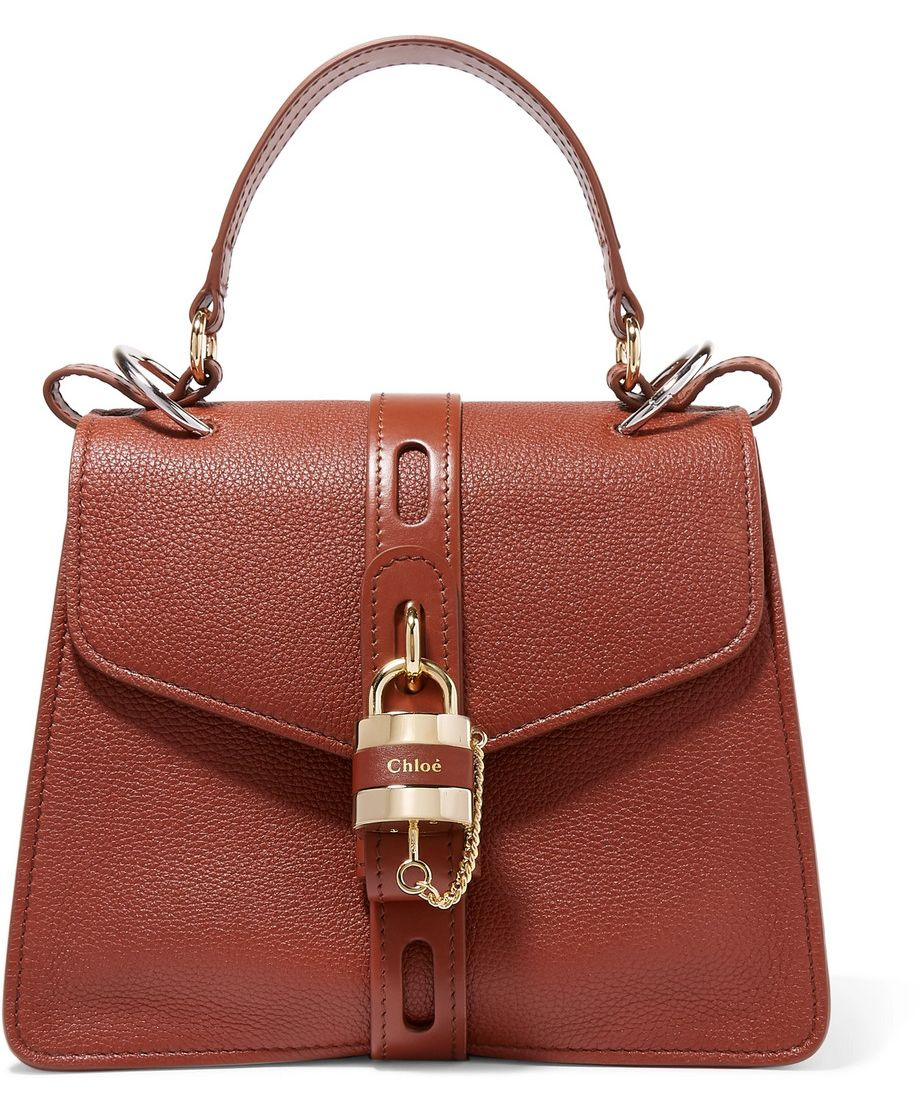 shop-chloe-aby-small-textured-leather-tote-brick