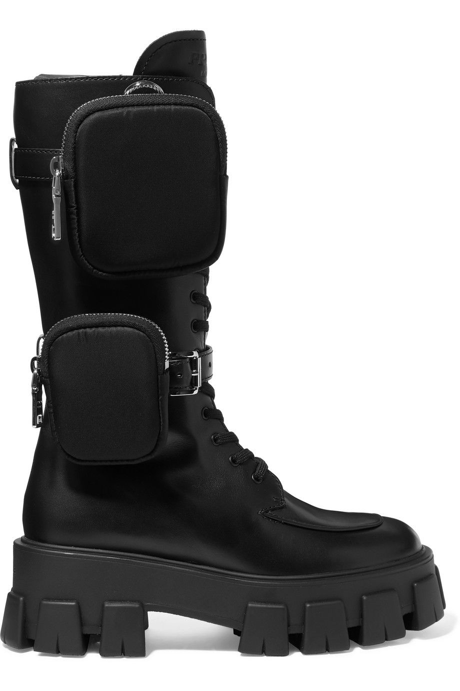 Prada-buckled-leather-and-shell-platform-boots-net-a-porter