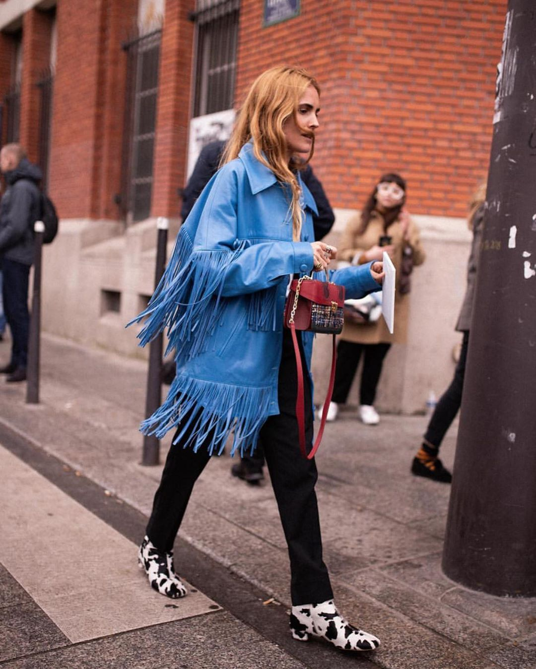 dan-cassab-loretta-lamb-leather-fringed-jacket-blue-blanca-miro-street-style