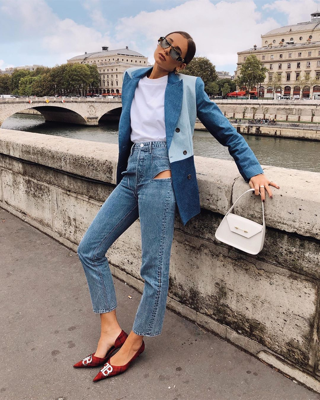 danielle-bernstein-canadian-tuxedo-fall-2019-outfit-street-style