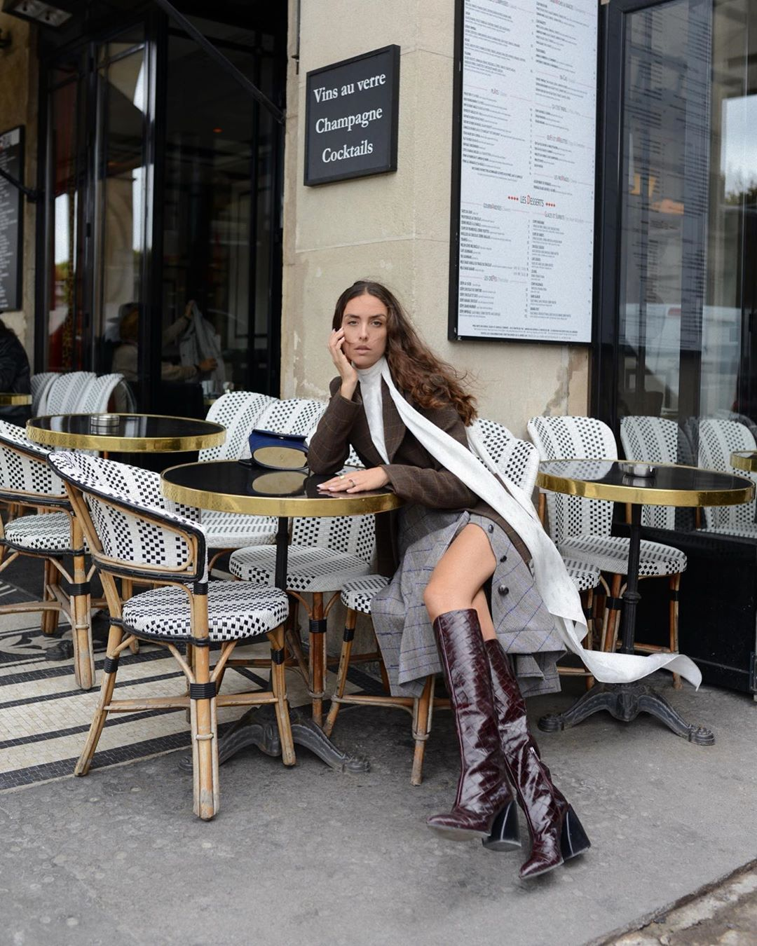 erika-boldrin-chloe-croc-effect-leather-knee-boots-paris-street-style