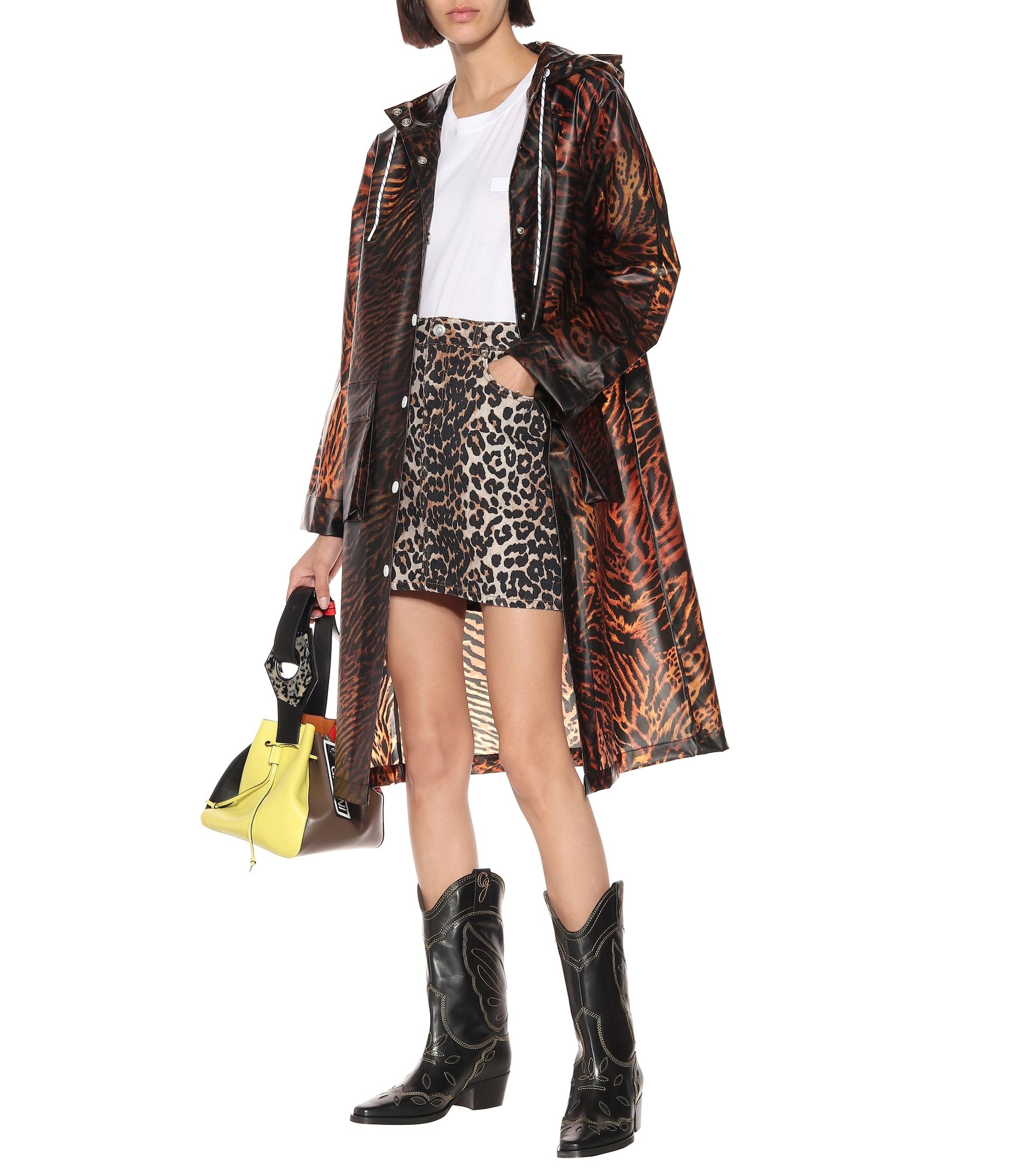 ganni-tiger-print-raincoat-outfit-fall-2019