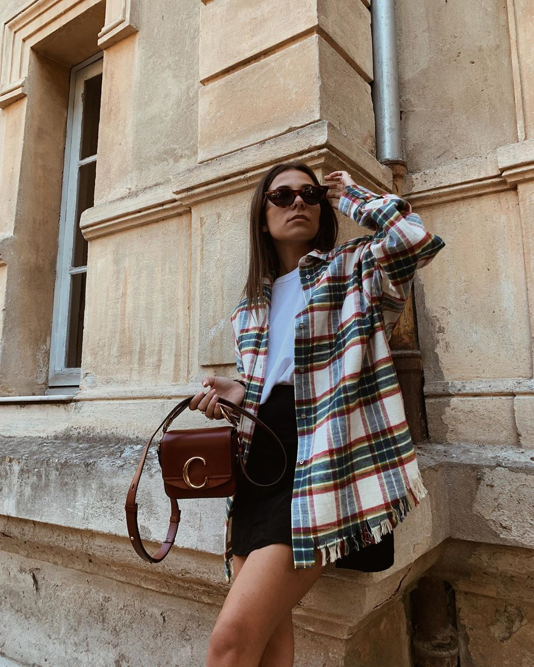 iro-oversized-checked-flannel-shirt-instagram