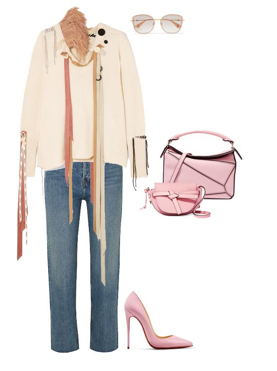loewe-puzzle-gate-bag-combo-pink-leather-outfit-inspiration-fall-2019