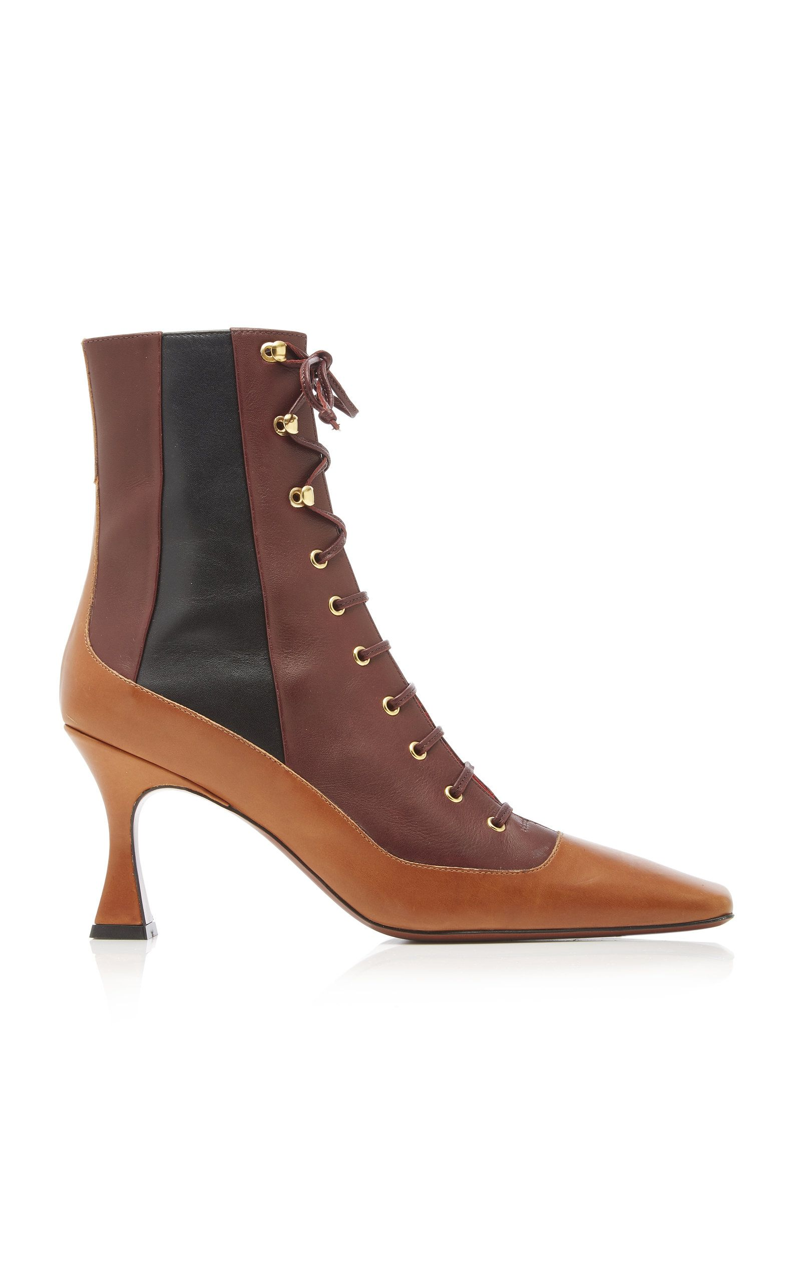 manu-atelier-duck-color-block-leather-ankle-boots