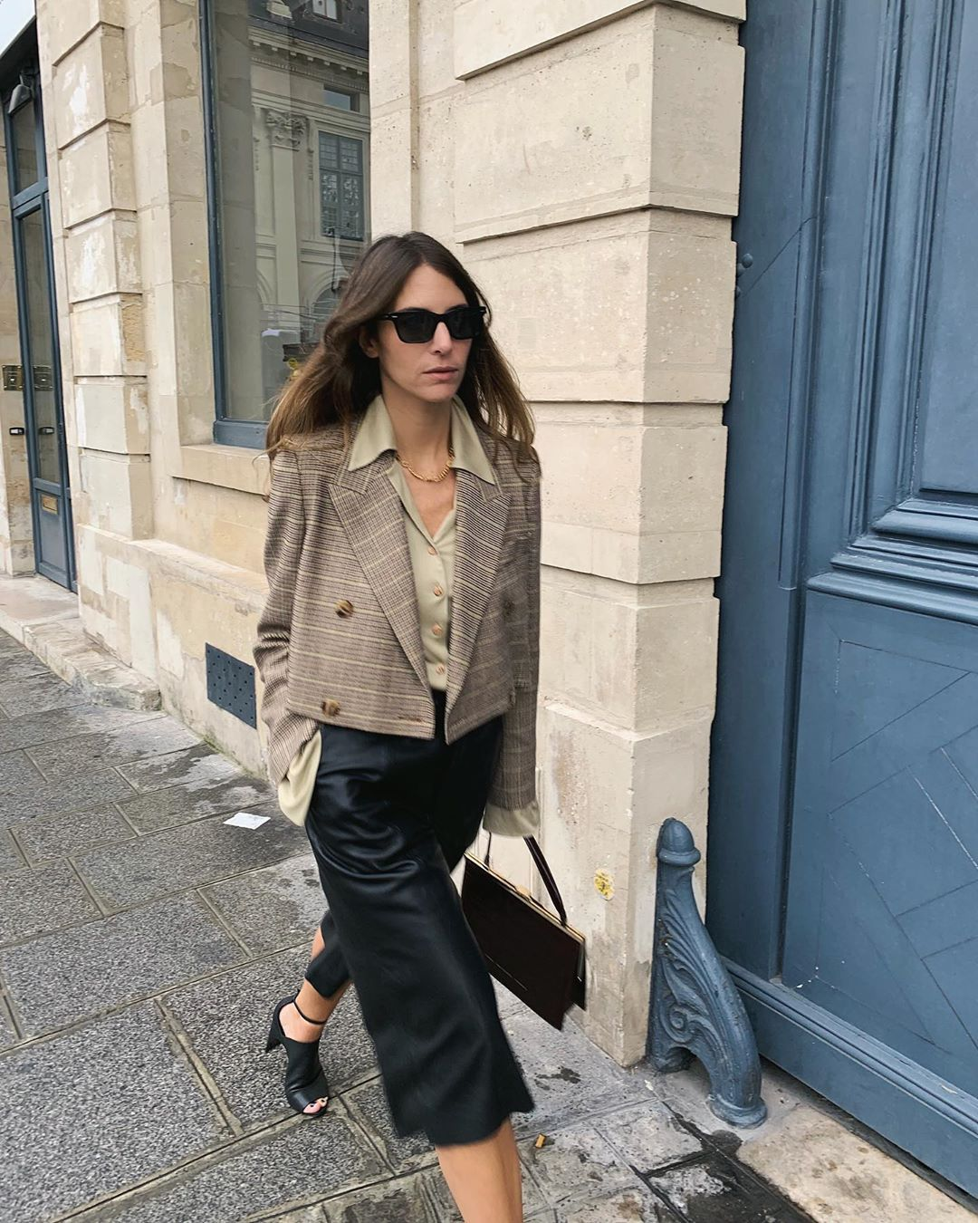 nanushka-moscot-cropped-tweed-blazer-jen-wonders-instagram