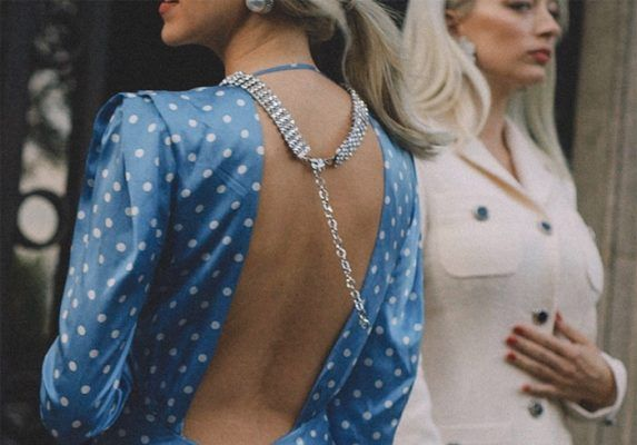 The polka-dot dresses for special occasions (or not…) fashion girls want you to buy this fall