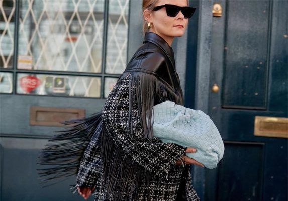 This is what Fall 2019 fringed jackets look like