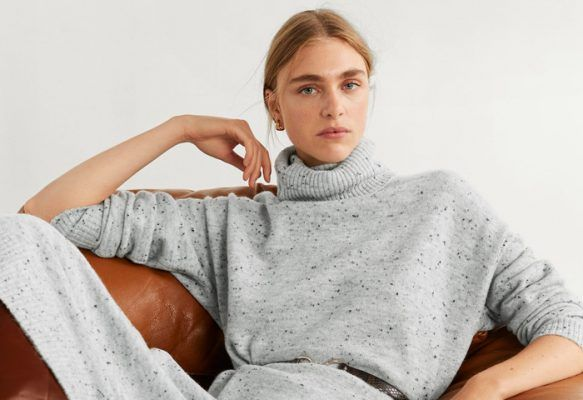 Is it just us or knitted dresses are the coziest thing to wear right now?
