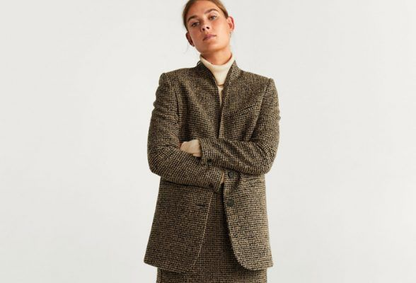 This tweed coordinate is fashion girls' favorite affordable matching set of the season