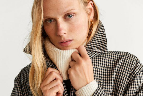The Miu Miu Houndstooth fringed jacket you wanted 6 months ago, you can now shop at Mango