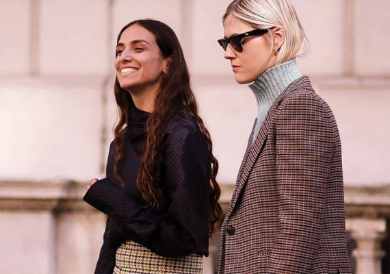 How to style trouser shorts this fall (as seen during Fashion Month)