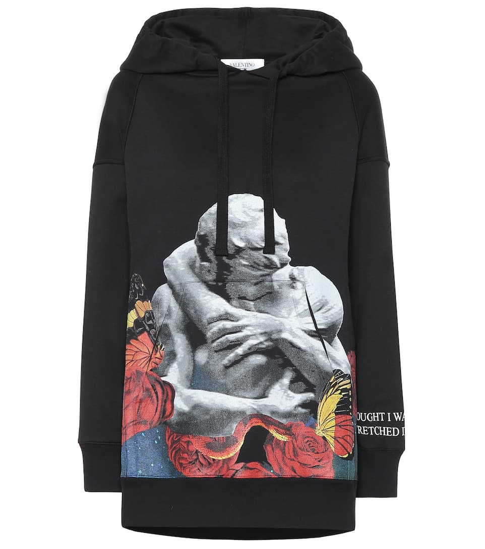 valentino-x-undercover-printed-cotton-blend-hoodie