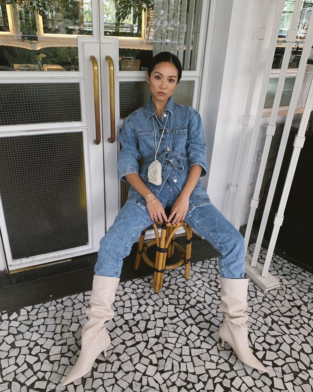 yoyo-cao-double-denim-look-mango-fall-2019