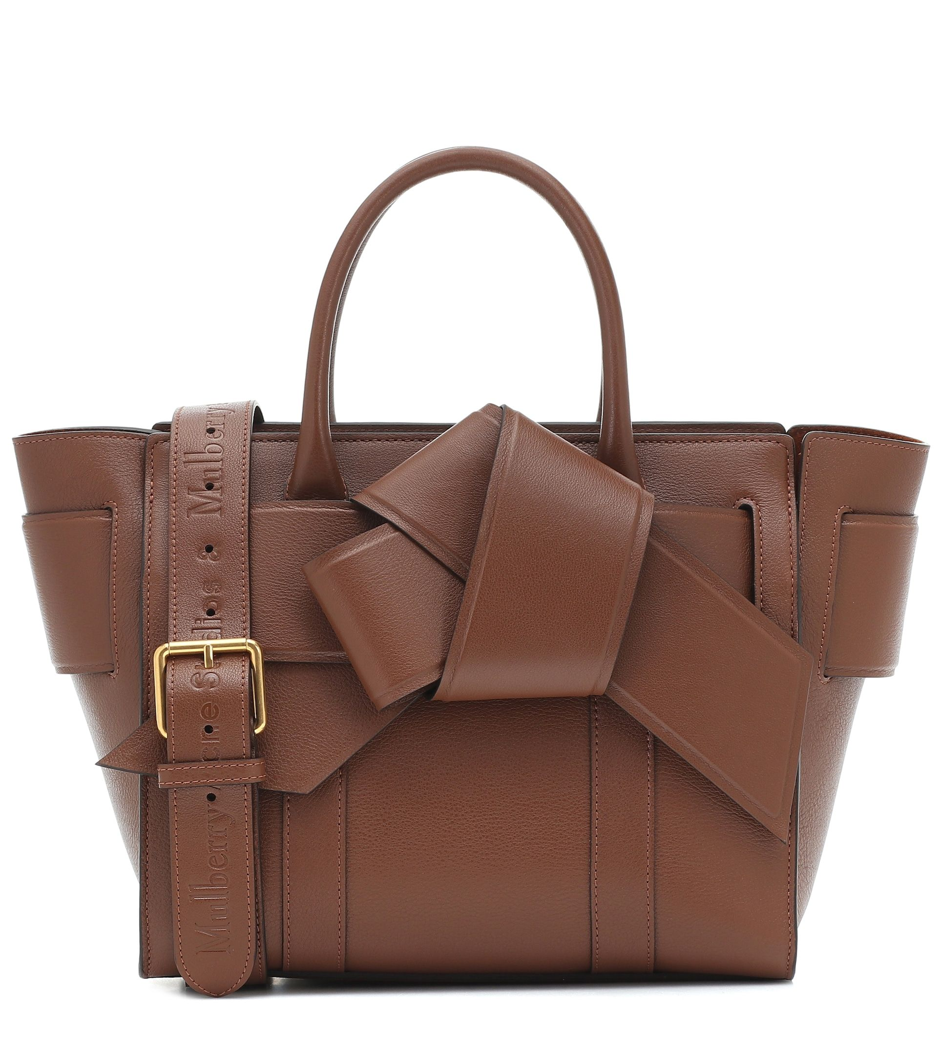 acne-studios-x-mulberry-bayswater-musubi-leather-tote-brown