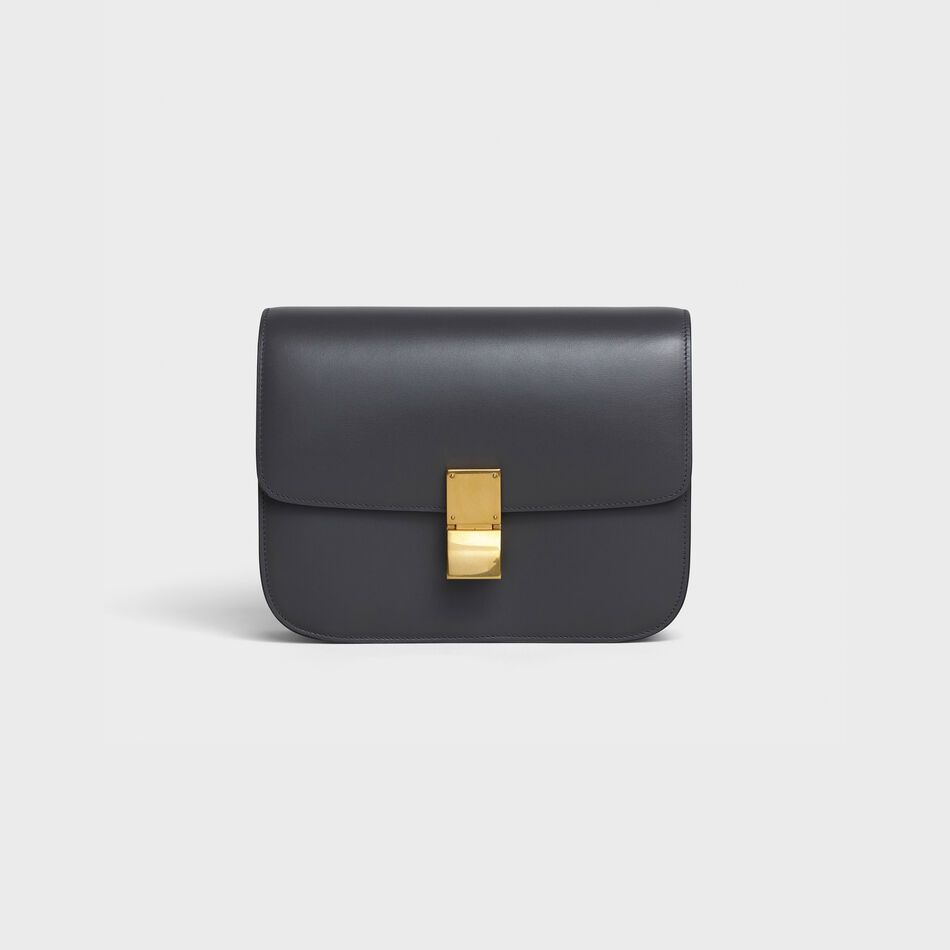 celine-classic-box-bag-medium-anthracite-calfskin-leather