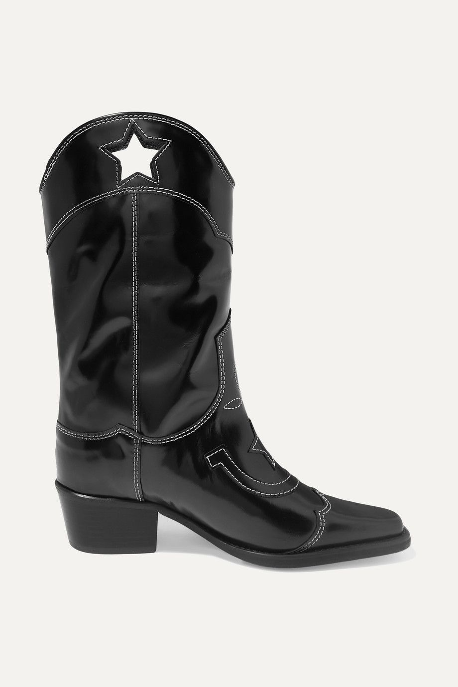 ganni-embroidered-patent-leather-cutout-boots-net-a-porter-sale