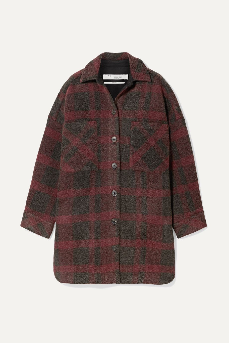 iro-zunky-oversized-checked-flannel-jacket-net-a-porter-sale