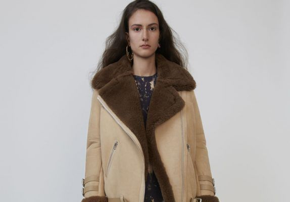 Our dream shearling jacket is fashion girls' favorite too