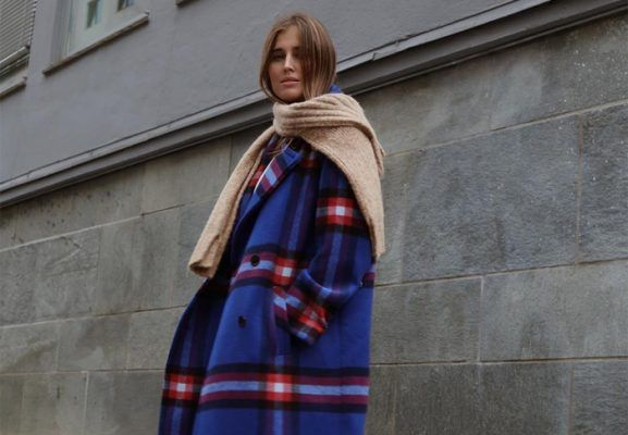 Checked coats are a classic winter staple, and there's one for every occasion (and budget)