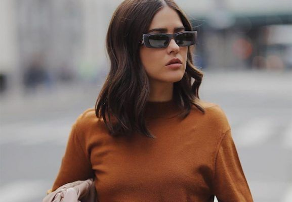 This asymmetric top in the perfect fall color has «Autumn» written all over it