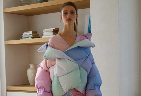 Stop everything: This cotton candy puffer jacket is too cute to handle