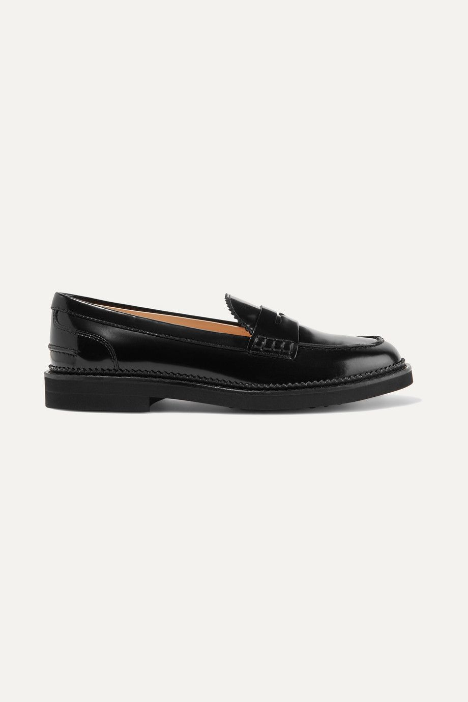 tods-patent-leather-loafers