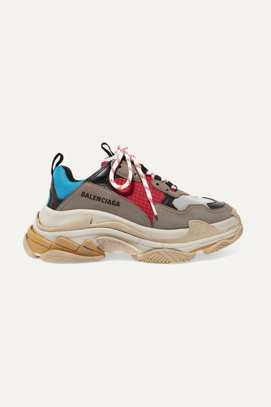 balenciaga-triple-s-blue-red-leather-nubuck-and-mesh-sneakers