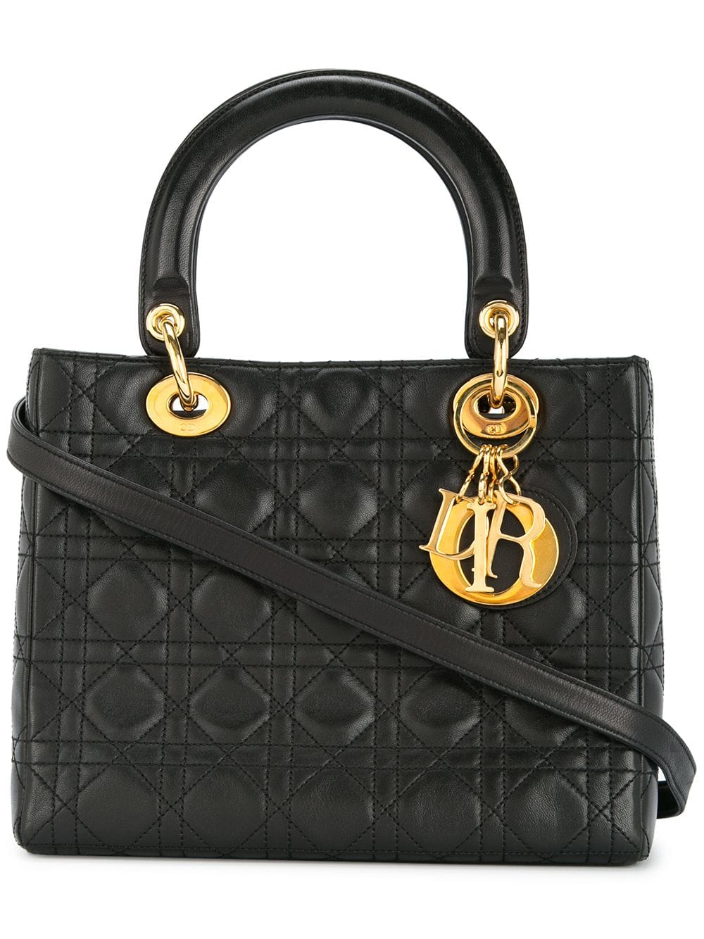 dior-pre-owned-lady-dior-cannage-bag