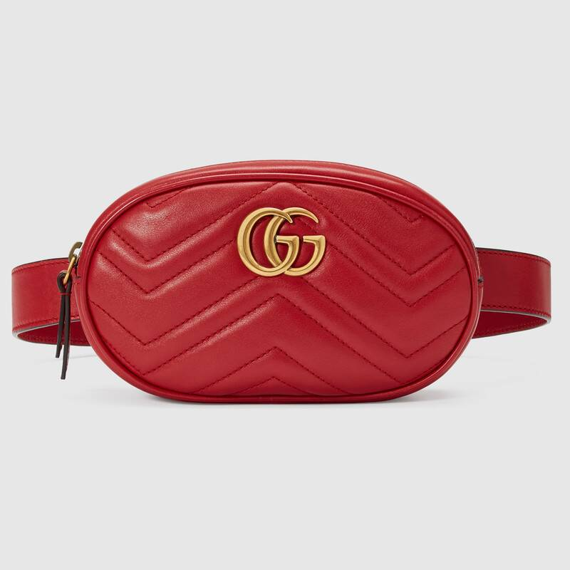 gucci-gg-marmont-red-matelasse-leather-belt-bag
