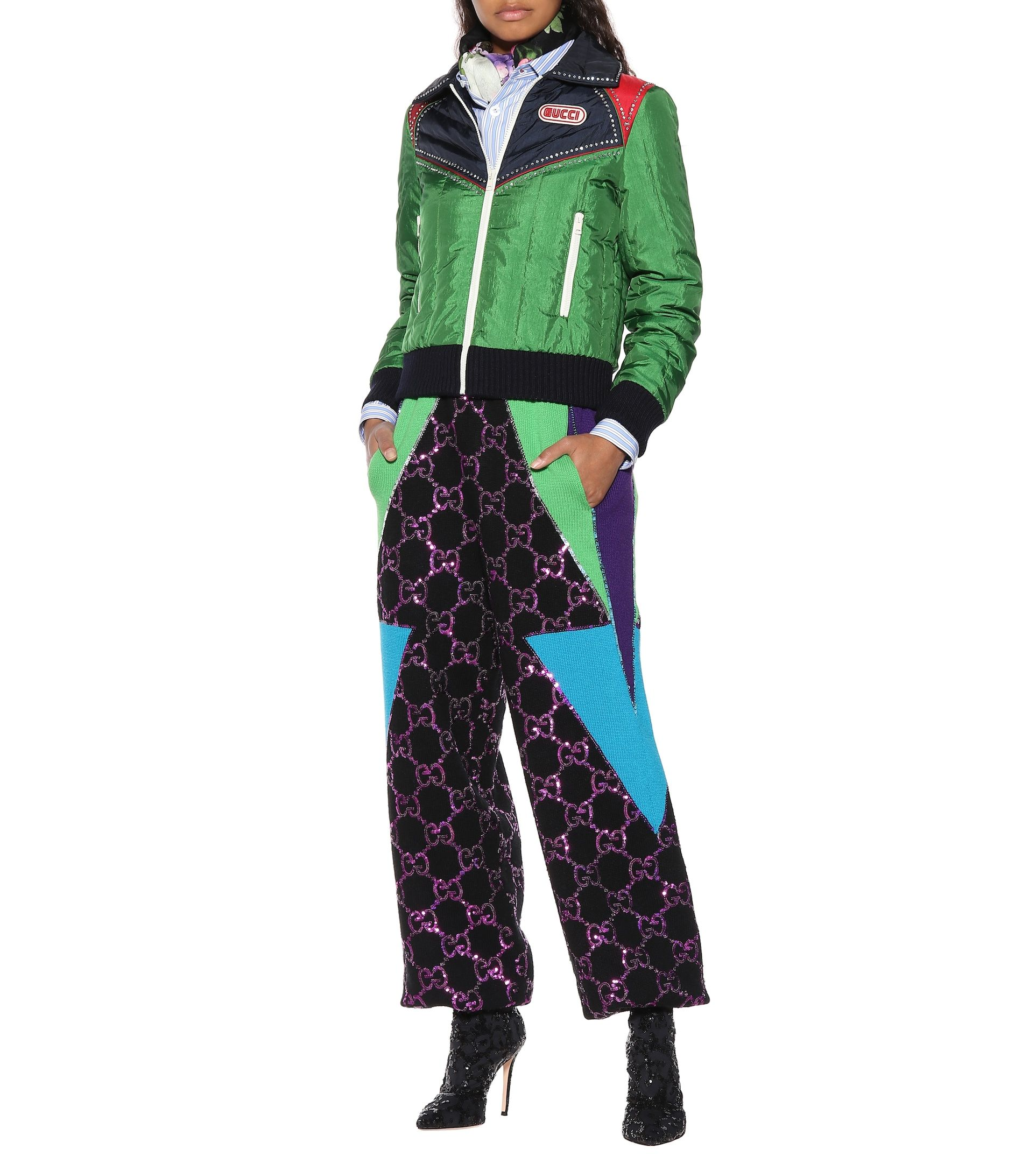 gucci-sequined-wool-track-pants