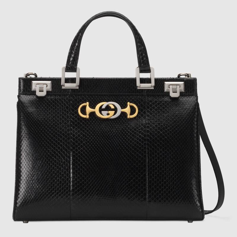 gucci-zumi-snakeskin-medium-top-handle-bag-black