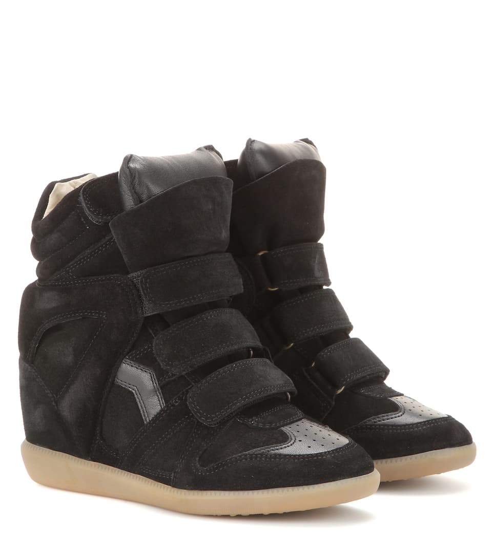 isabel-marant-bekett-leather-and-suede-sneakers