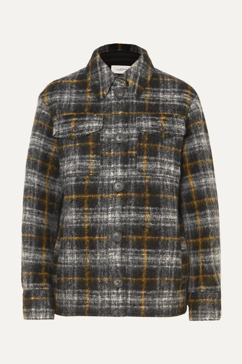 isabel-marant-etoile-gaston-checked-wool-blend-jacket
