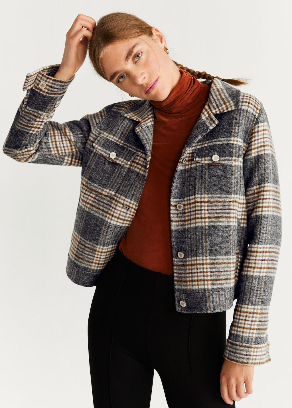 mango-checked-texture-cropped-jacket