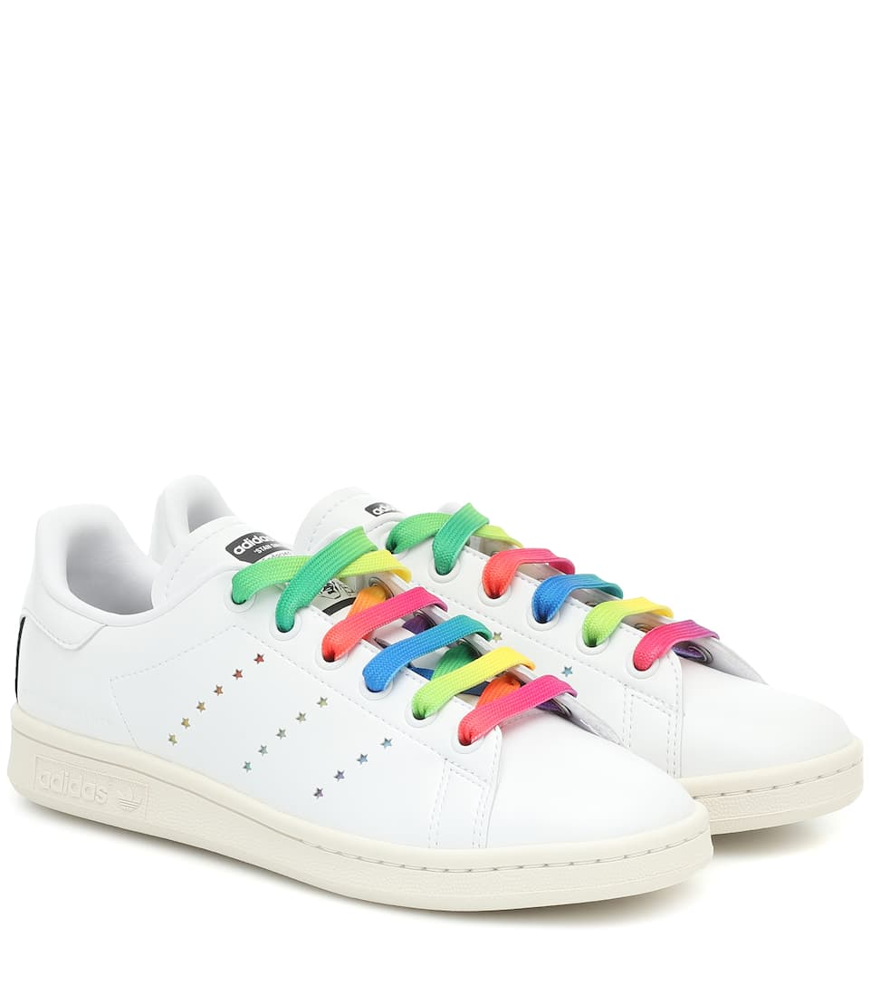 stella-mccartney-x-adidas-stan-smith-sneakers-with-rainbow-shoelaces
